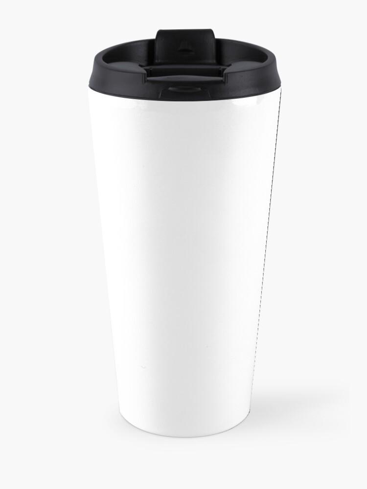 Alternate view of aesthetic wave Travel Mug