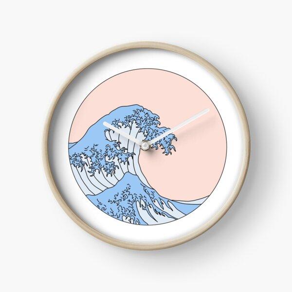 aesthetic wave Clock