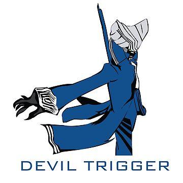 DEVIL TRIGGER BLUE by CreativeFlame