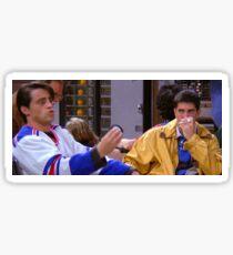 Ross Geller Joey Tribbiani Friends TV Show Sticker