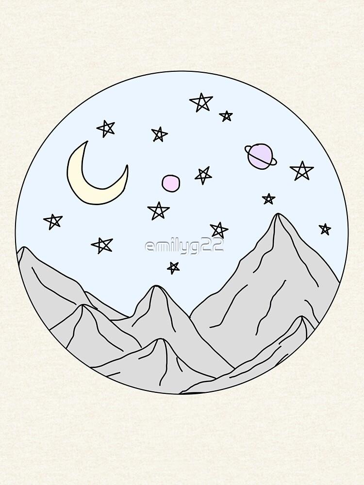 escena de la montaña del cielo de emilyg22