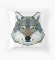 The Wolf of the North Throw Pillow