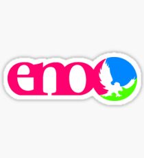 Tri Color Eno Sticker