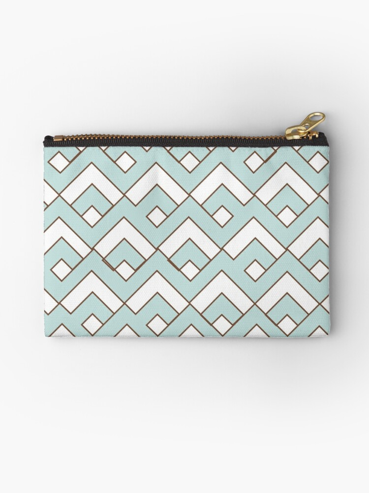 mint,white,brown,geomtric,pattern,modern,trendy,contemporary pattern by love999