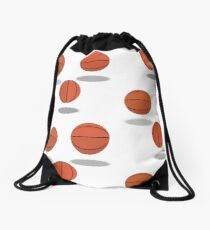 Hoops Trio Patterned Drawstring Bag
