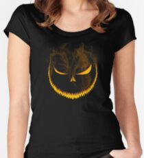 Trick or Terror! Women's Fitted Scoop T-Shirt