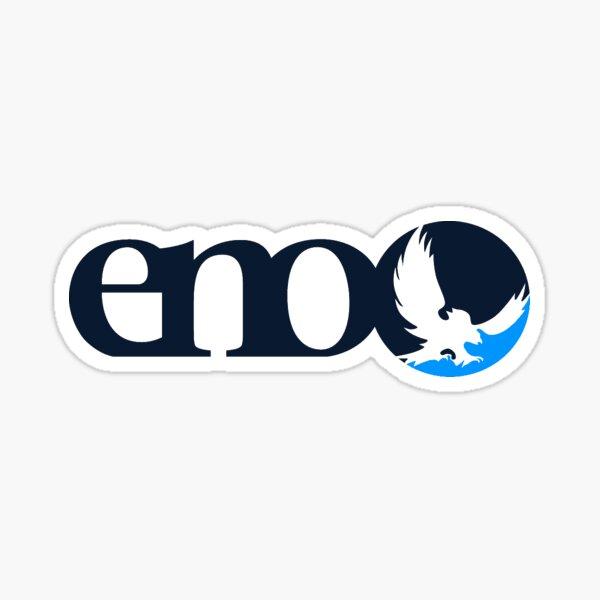 Blue Striped Eno Sticker