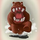 Hyper Hippo on the Charge by FireAwayMarmot