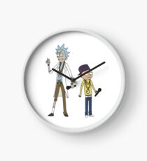 Rick and Morty - Rappers Clock