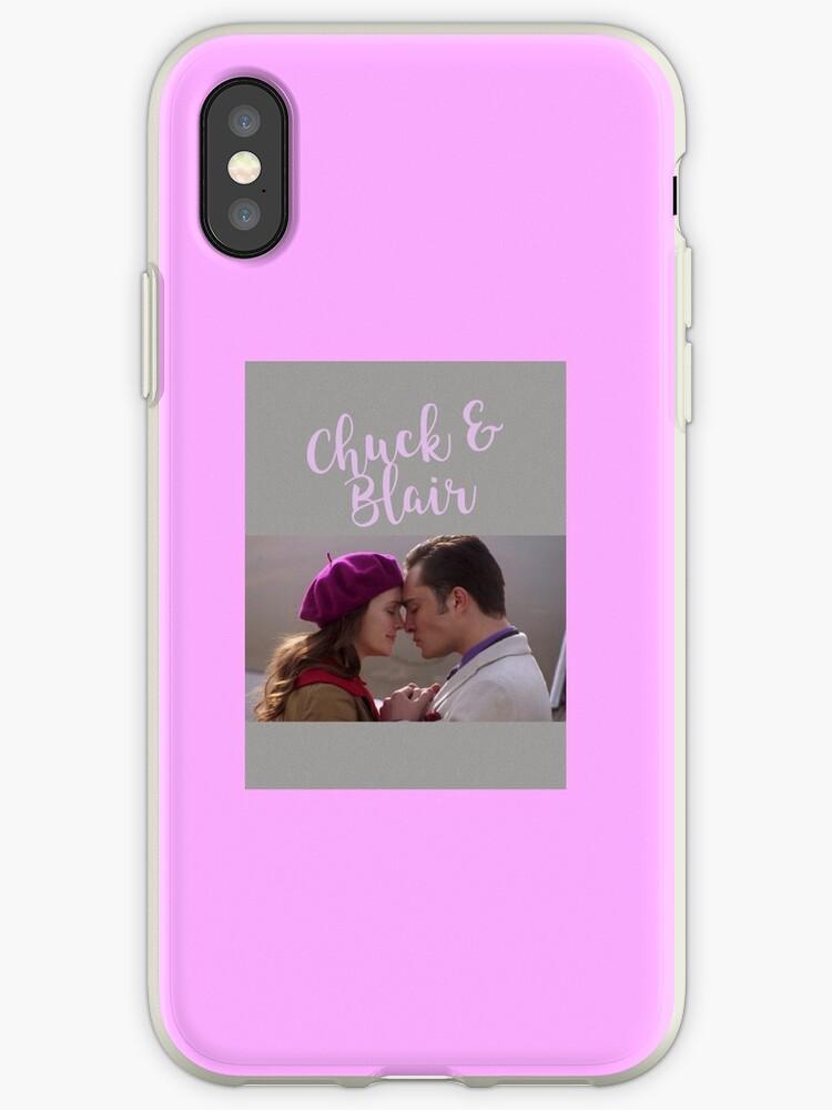 quality design 468ee c405a 'Gossip Girl - Chuck and Blair' iPhone Case by megan-mathias