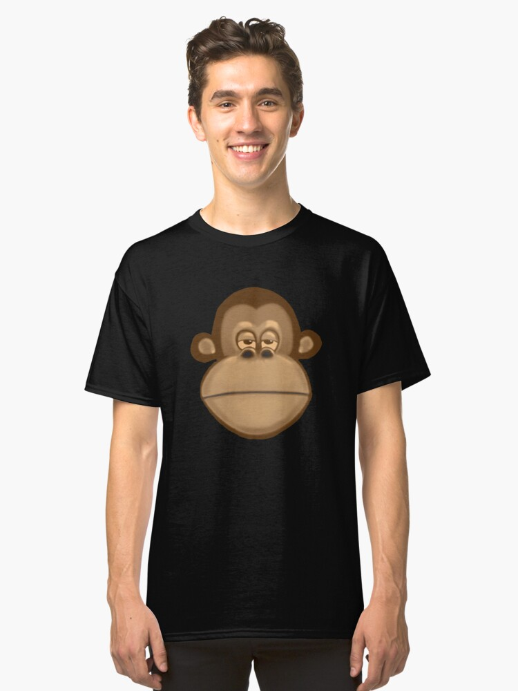 Meh Monkey Classic T-Shirt Front