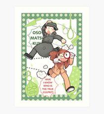 Calming Detective Osomatsu! Art Print