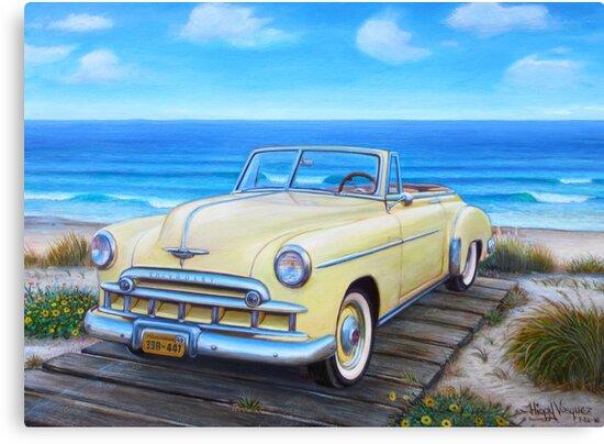1949 Chevrolet Convertible by HiggyV