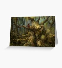 Forest Melody Greeting Card