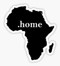 Africa Home Sticker