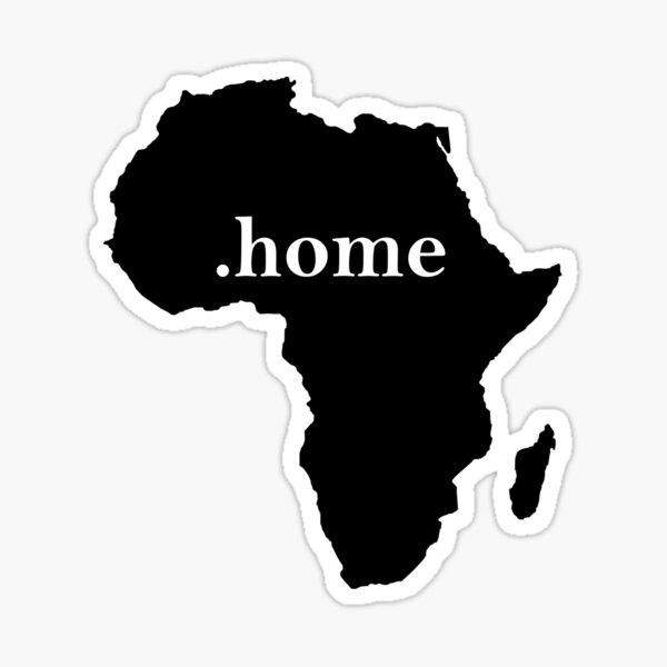 Accueil Afrique Sticker
