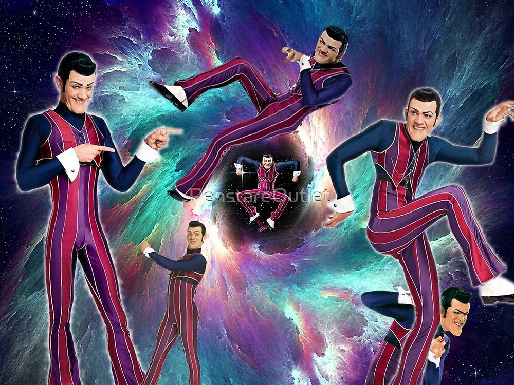 Robbie Rotten Rules the Universe by PenstareOutlet
