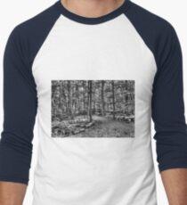 Forest 4 Men's Baseball ¾ T-Shirt