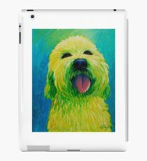 Shaggy Dog in Yellow iPad Case/Skin