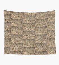 Mosaic Pebble Wall Wall Tapestry