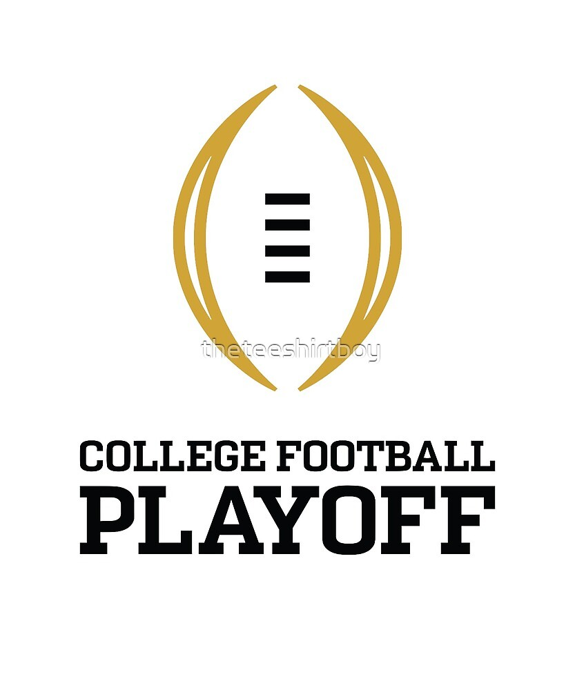College Football Playoff by theteeshirtboy