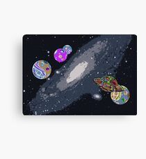Lost In Space I Canvas Print