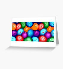 Bosons Greeting Card