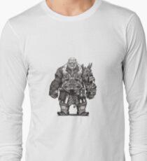 Dwarf Warrior Long Sleeve T-Shirt
