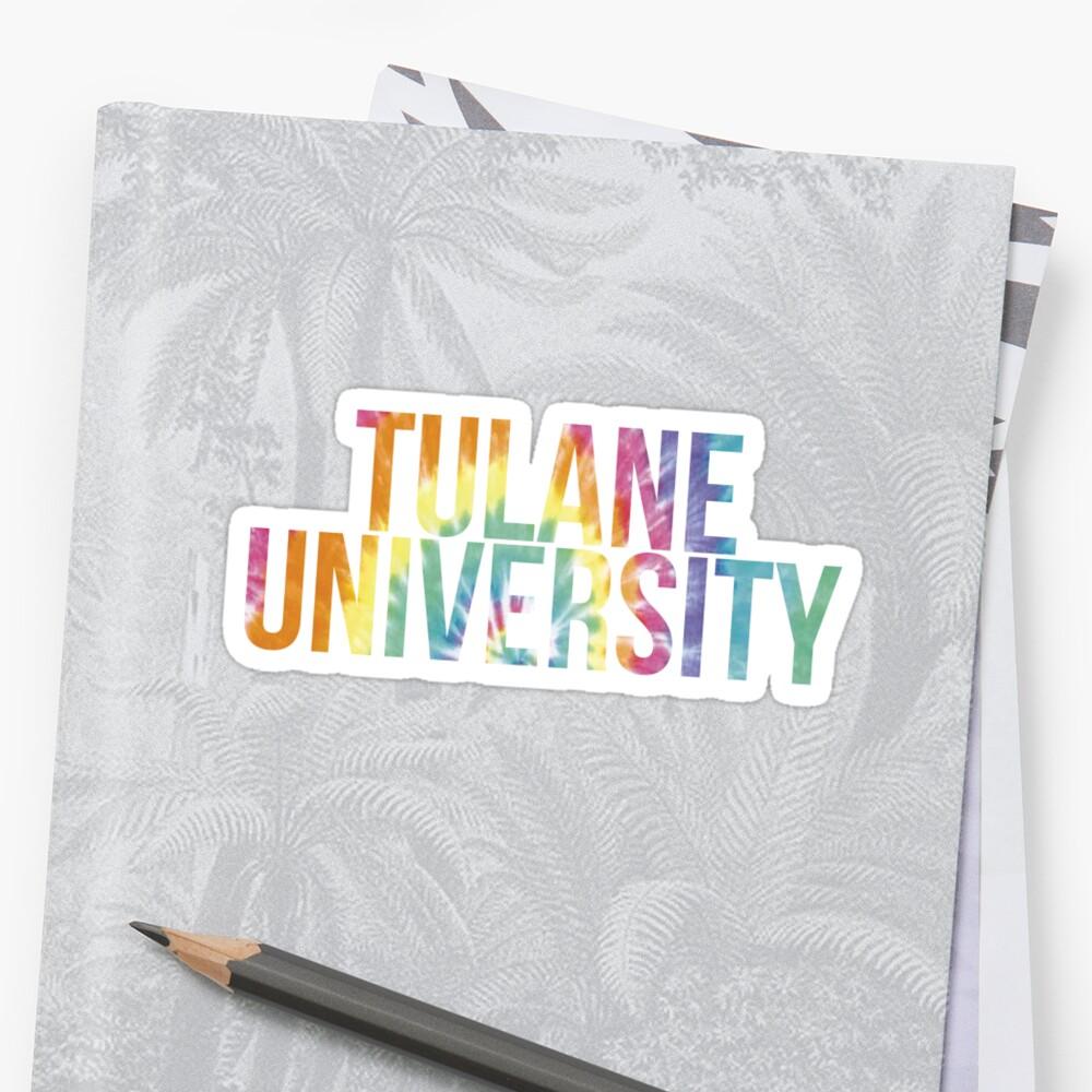 Tulane University Tie Dye by PWRCT