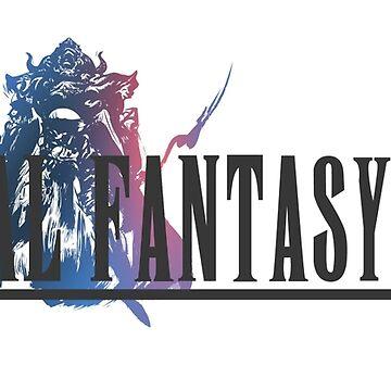 Final Fantasy 12 Logo by MaxiPower