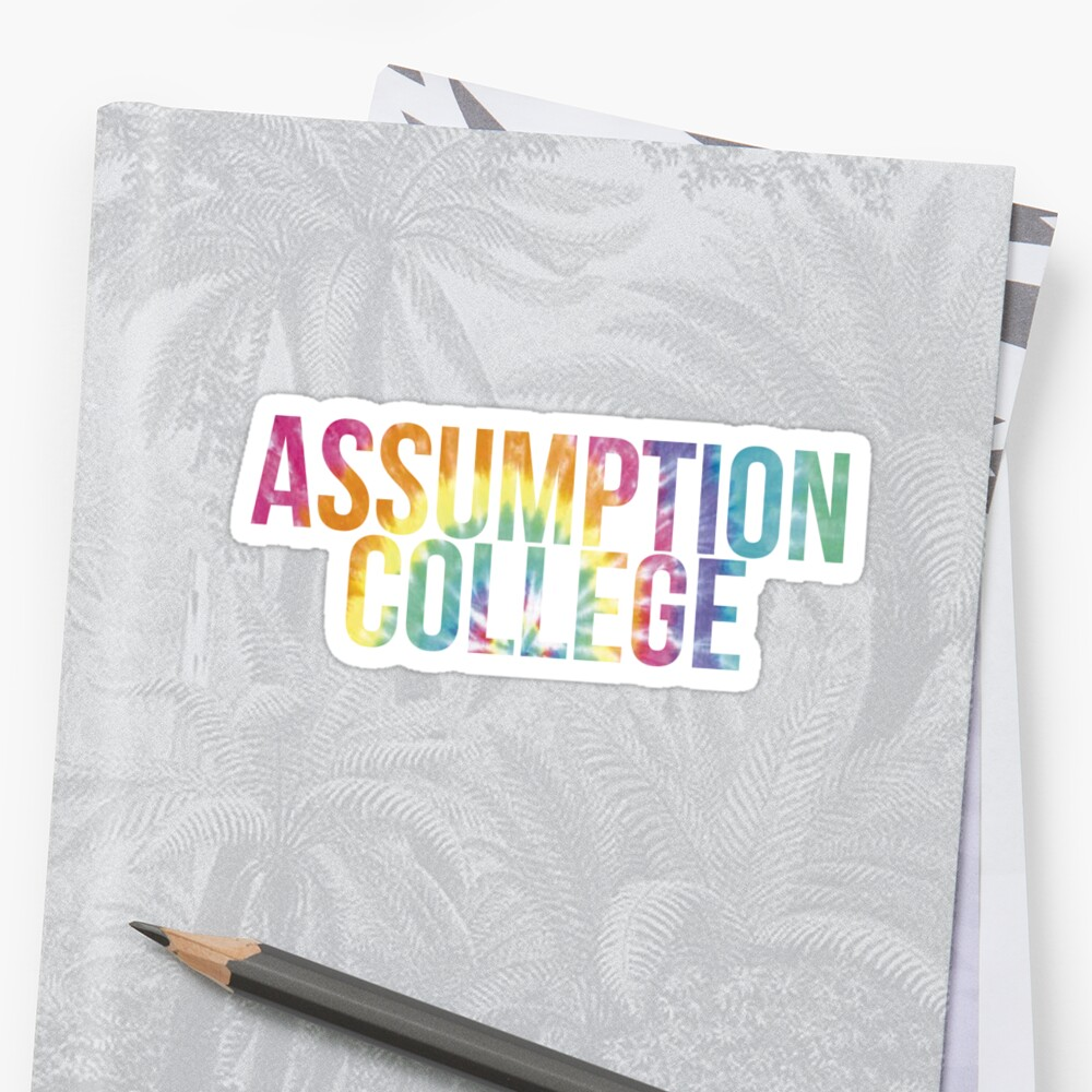 Assumption College Tie Dye by PWRCT