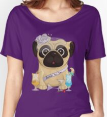 Bachelorette Pug Relaxed Fit T-Shirt
