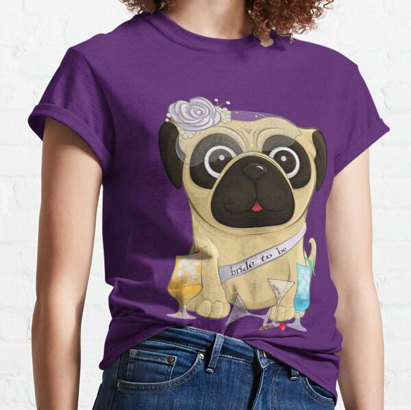 Bachelorette Pug Classic T-Shirt