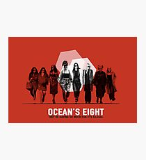 Ocean's Eight Photographic Print