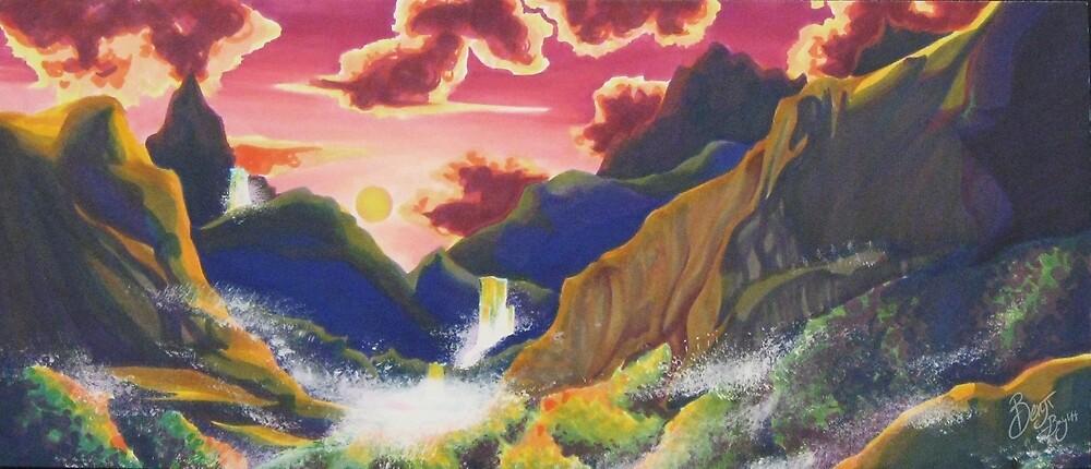 Purple Mountains Majesty by benjibay