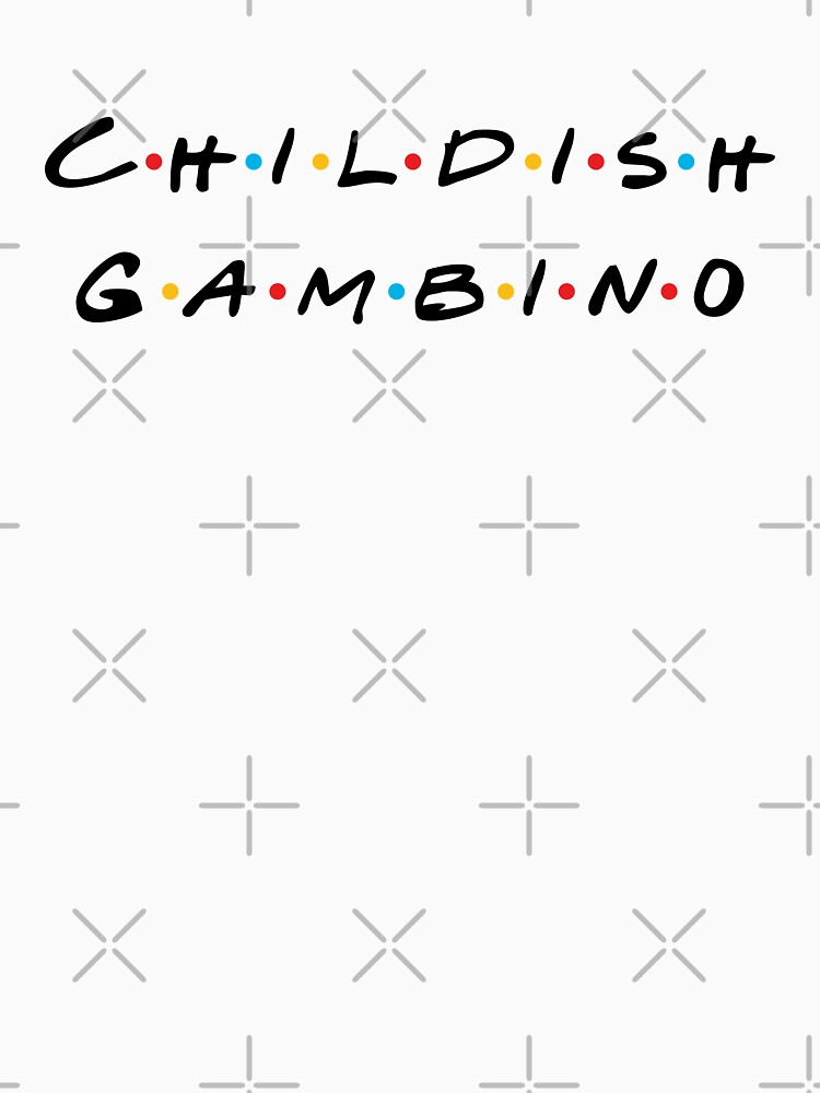 Childish Gambino Friends by EasternGraphics