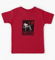 MAMBO FARTING DOG Kids Tee