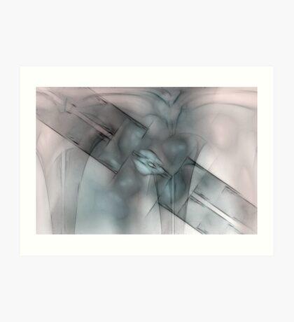 Distortion Art Print