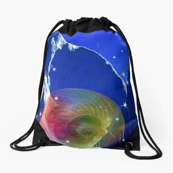 A safe Place Drawstring Bag