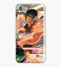 Kyle Rayner Orange Ring iPhone Case/Skin