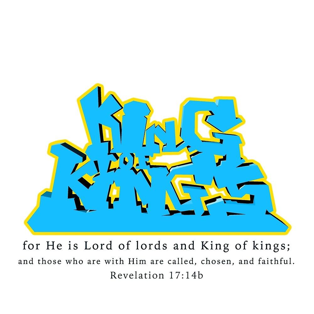 King of Kings - Revelation 17:14b by Thomas Olsen
