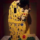 """Lego, """" The Kiss"""", Art of the Brick Exhibition, Nathan Sawaya, Artist, Discovery Times Square, New York City   by lenspiro"""
