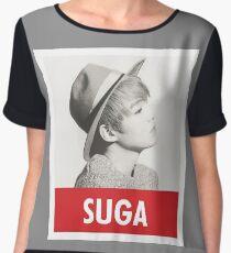 BTS - Suga Women's Chiffon Top