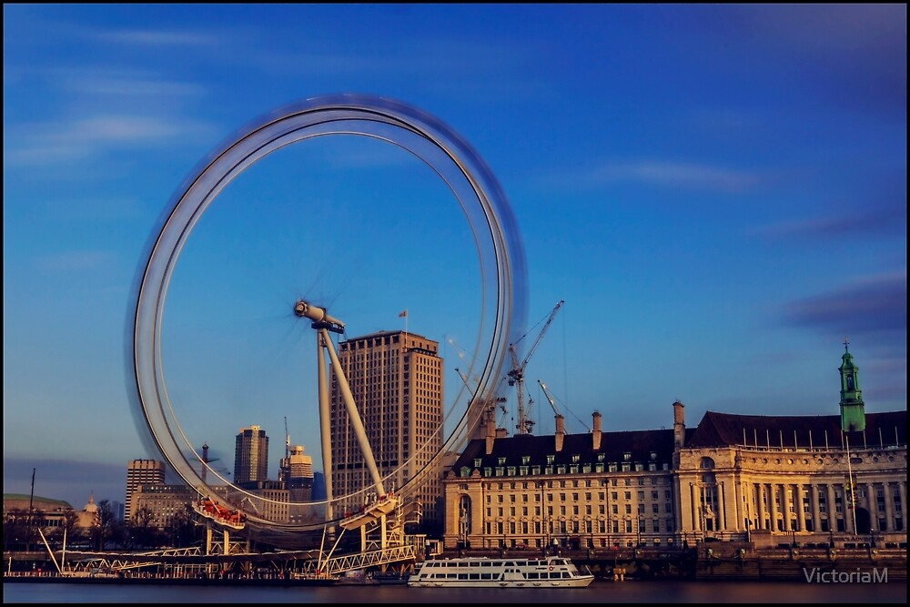 the london eye by VictoriaM