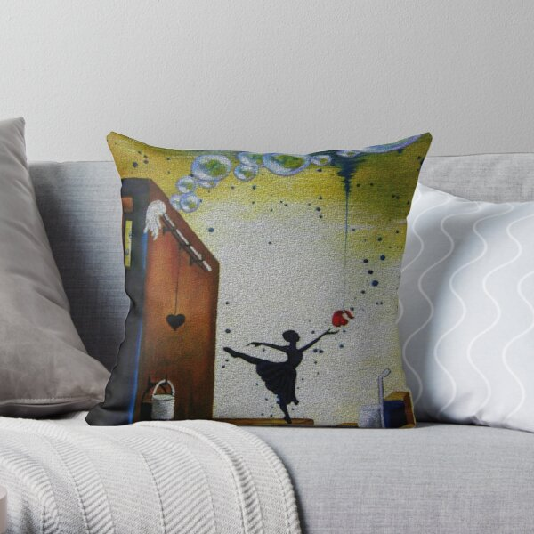 Conditional Love Throw Pillow