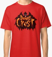 Demon's Crest (SNES Title Screen) Classic T-Shirt