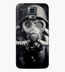 WWII German Solider in a Gas Mask Case/Skin for Samsung Galaxy