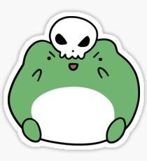Skull Frog Sticker
