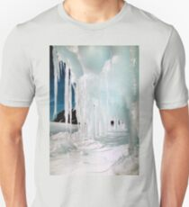 Ice Cave in Blue & White T-Shirt