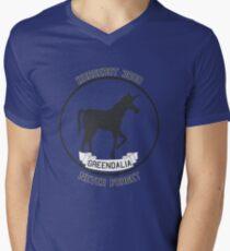 Horsebot 3000 Never Forget  Men's V-Neck T-Shirt